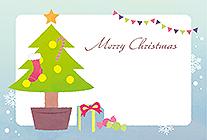 手書きメッセージOKのツリー&プレゼント