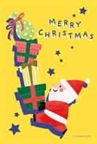 すべて クリスマスカードのテンプレート ポストカード イラスト素材サイト イラストareira Postcard Template