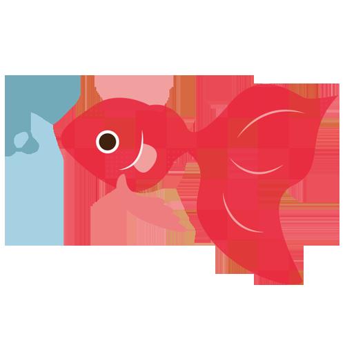 金魚 無料イラスト イラストareira