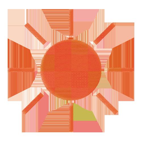 太陽」 - 無料イラスト[イラストareira]