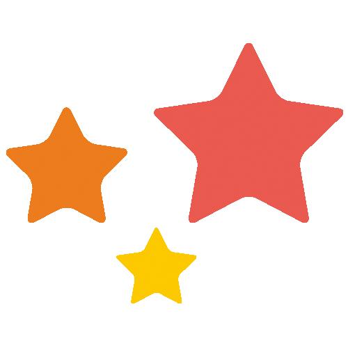星」 - 無料イラスト[イラストareira]