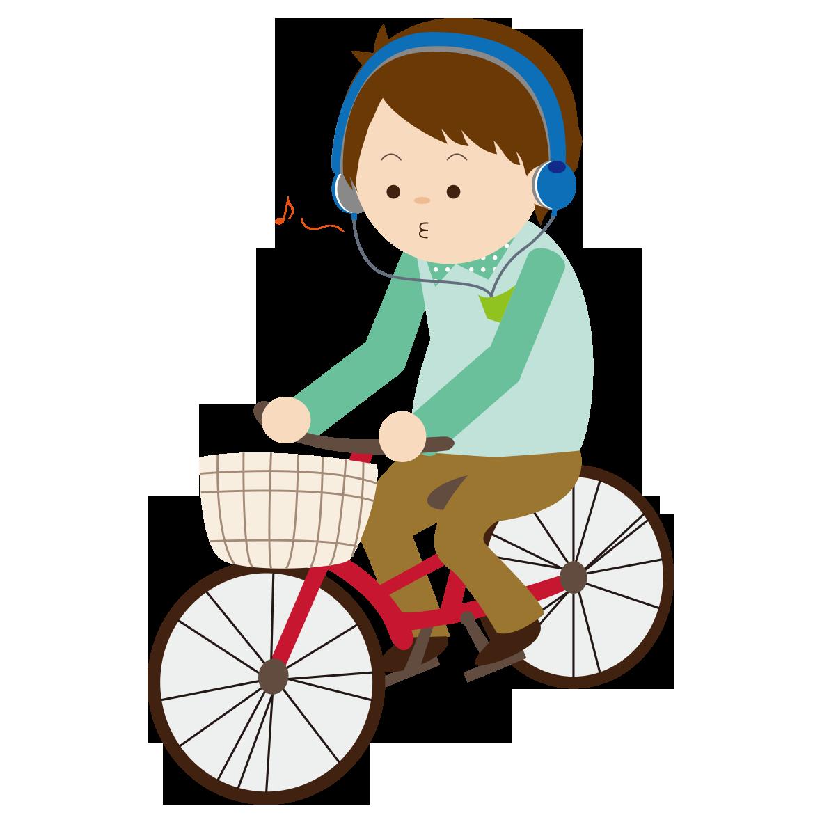 自転車【悪い例】」 - 無料イラスト愛