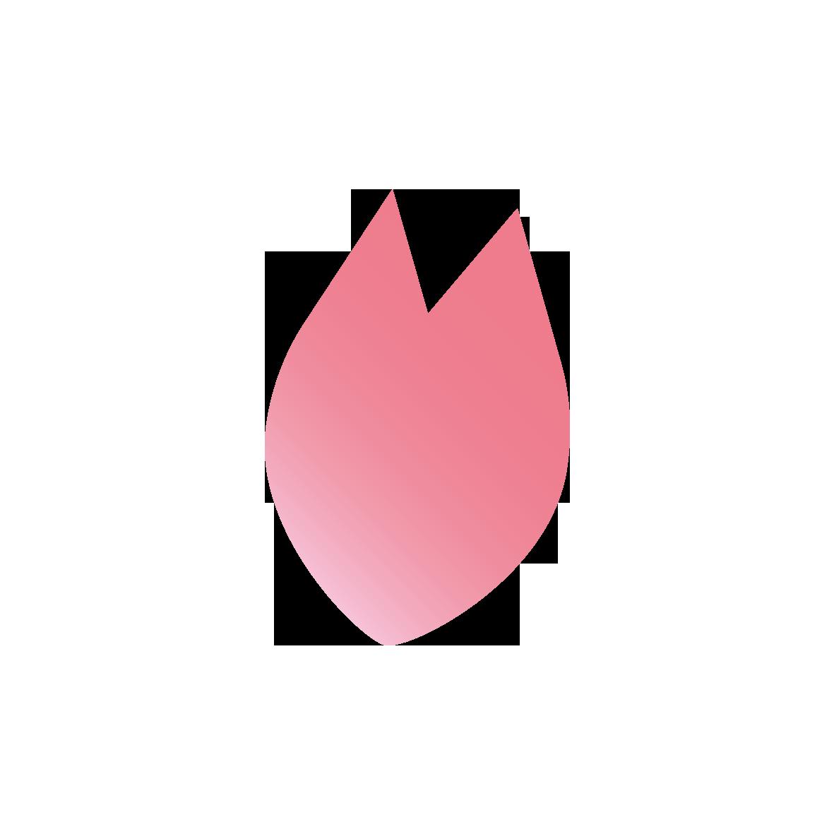 桜の花びら一枚 無料イラスト愛