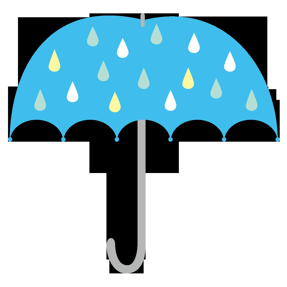 水色の傘」 - 無料イラスト愛
