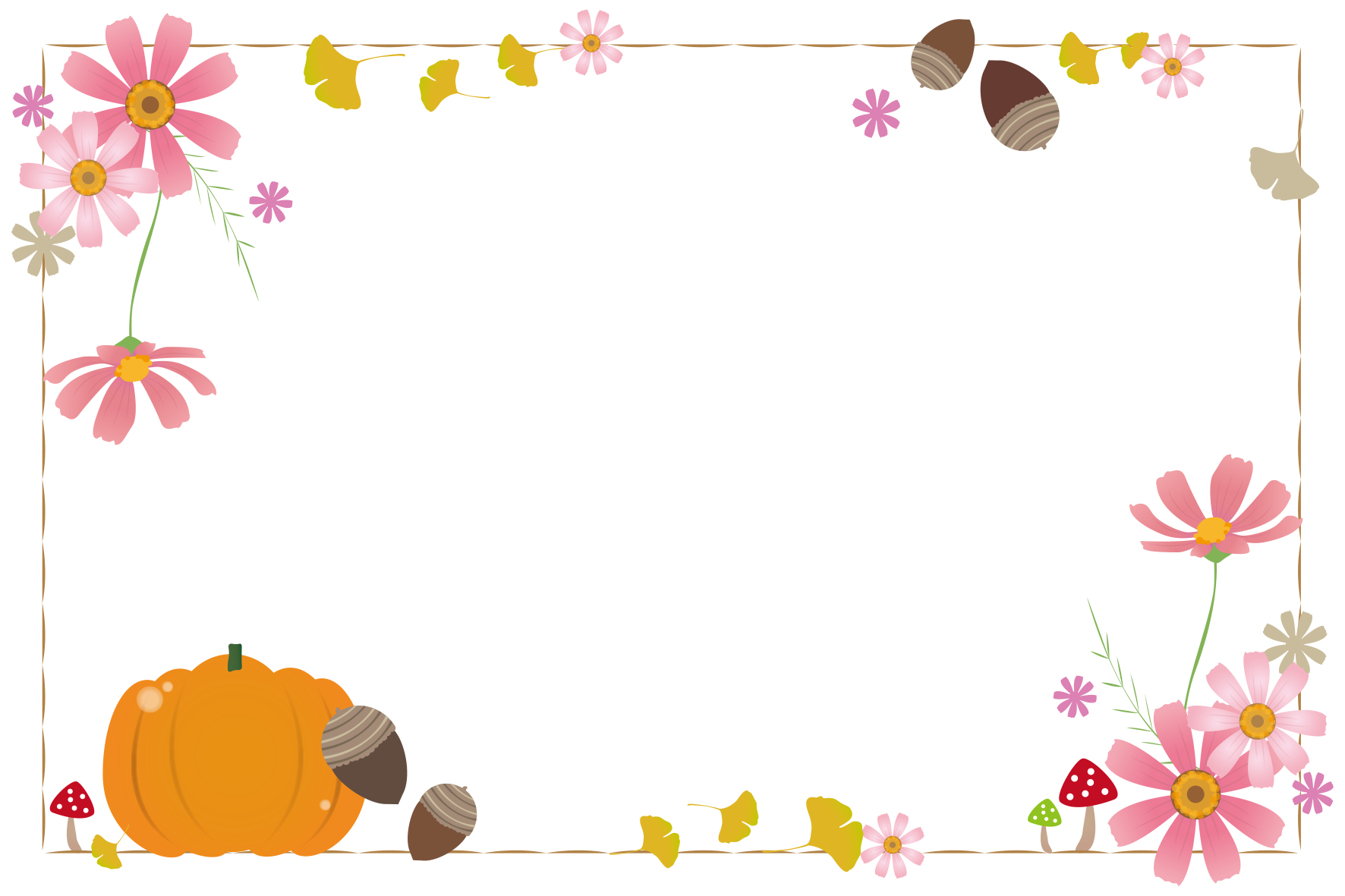 秋のイラスト一覧 無料イラスト愛