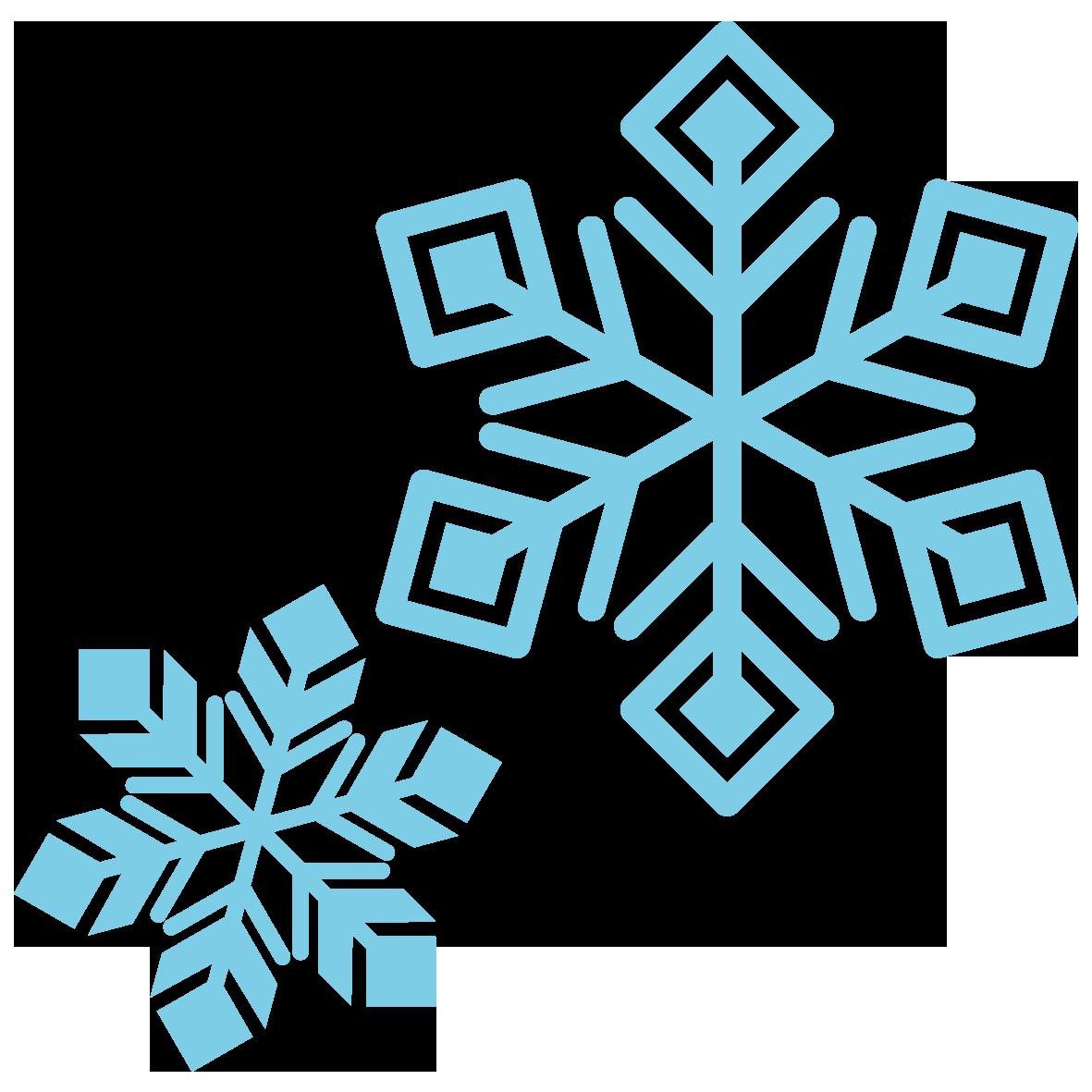 キラキラした雪の結晶 無料イラスト愛