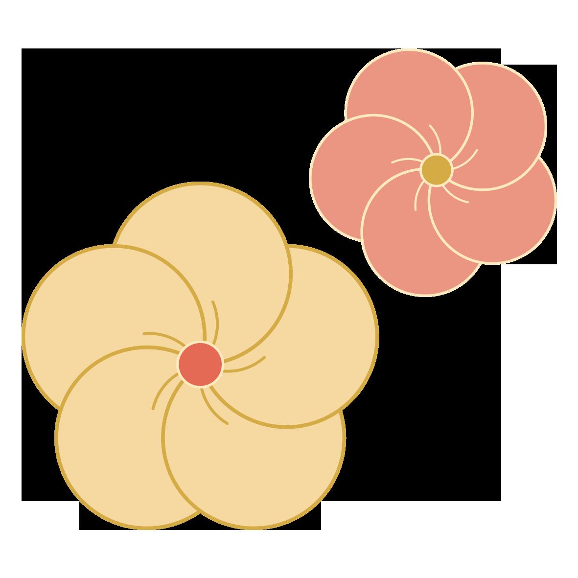 和の梅の花」 - 無料イラスト愛