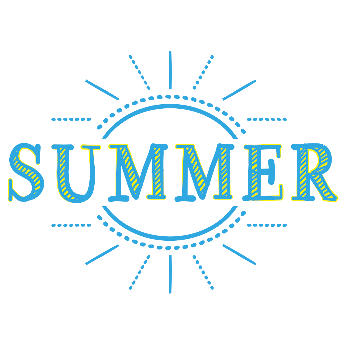 summerのタイトル文字」 - 無料イラスト愛